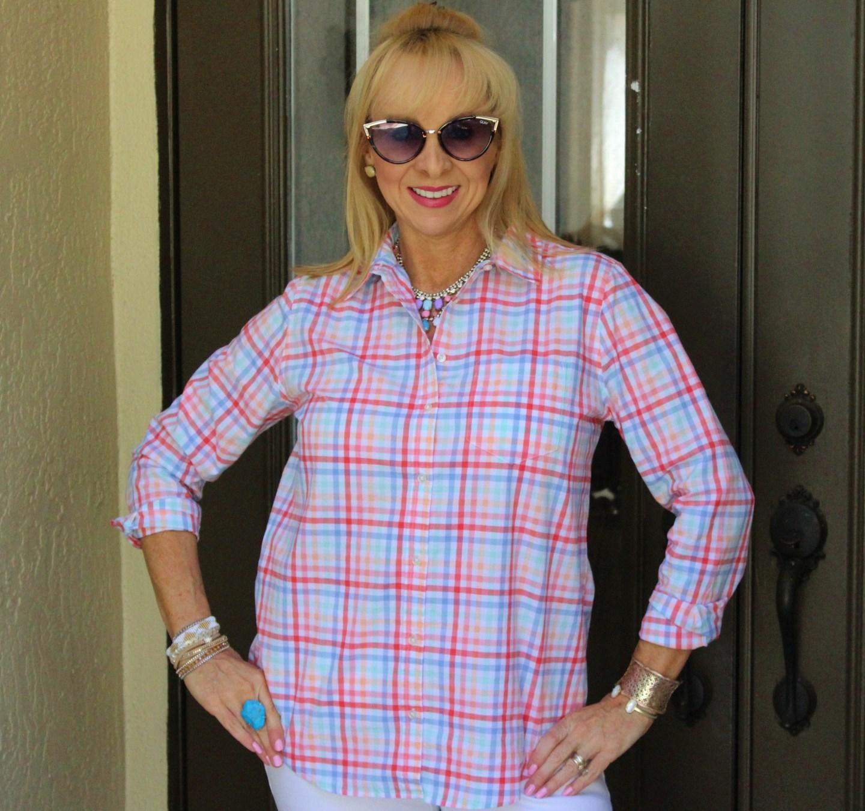 Pastel Gingham Shirt