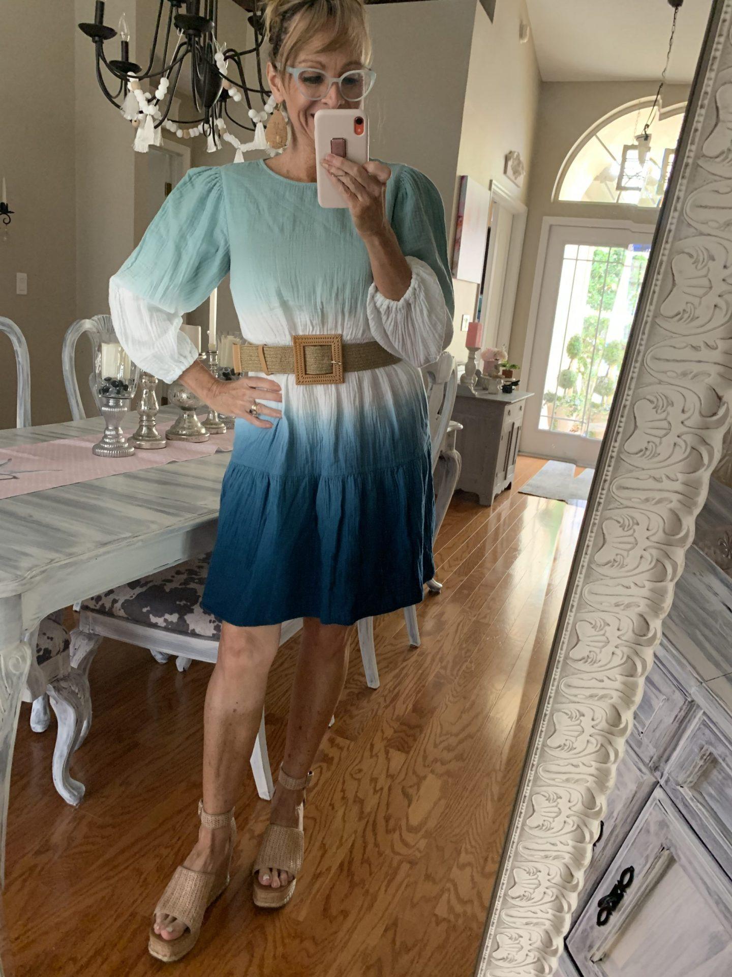 Target Tie Dye Ombre Dress