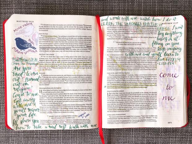 Journalling Bible