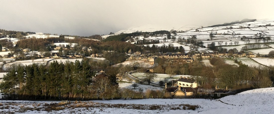 Middleton-in-Teesdale in the snow