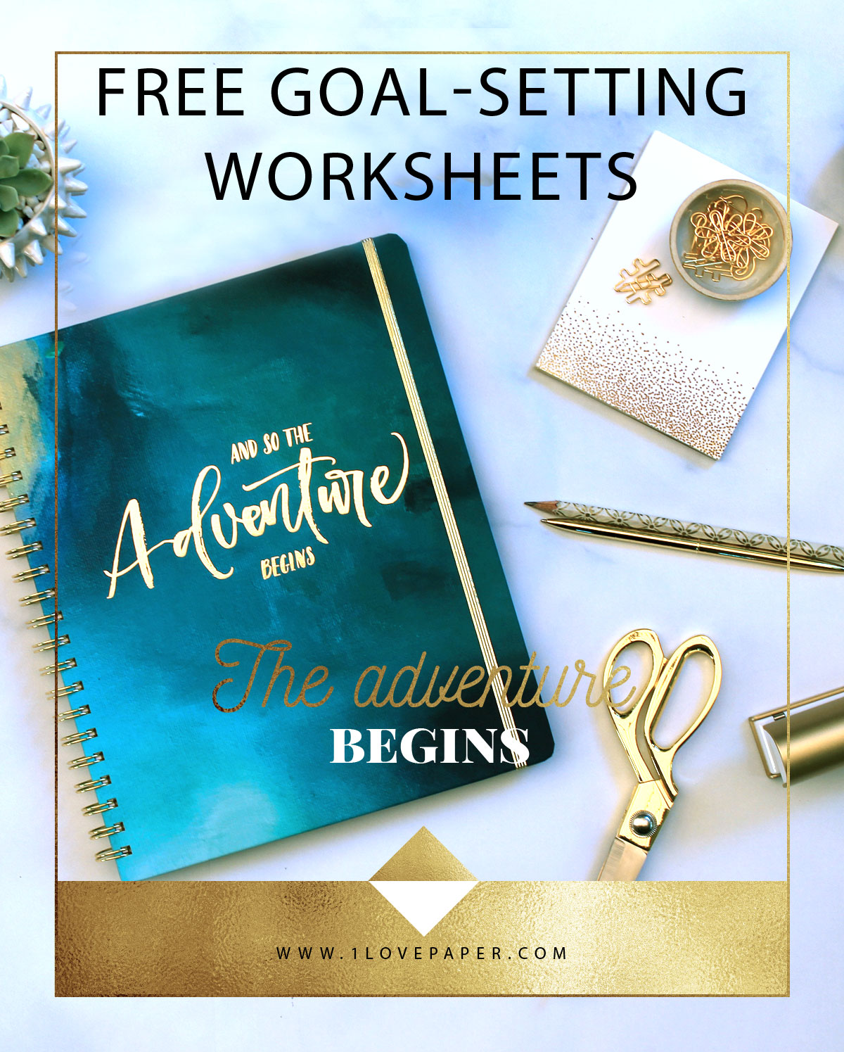 A Goal Without A Plan Is Just A Wish Free Goal Setting Worksheets