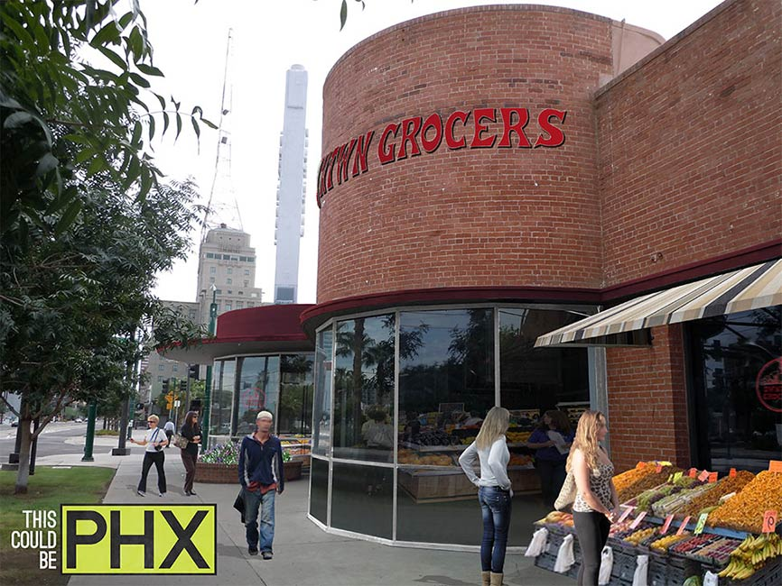 Downtown Phoenix grocery store
