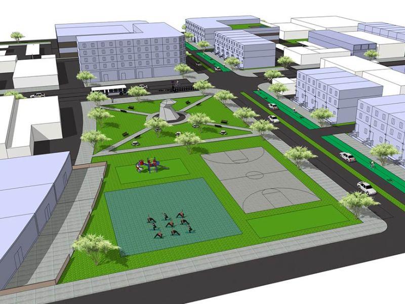 Urban infill idea