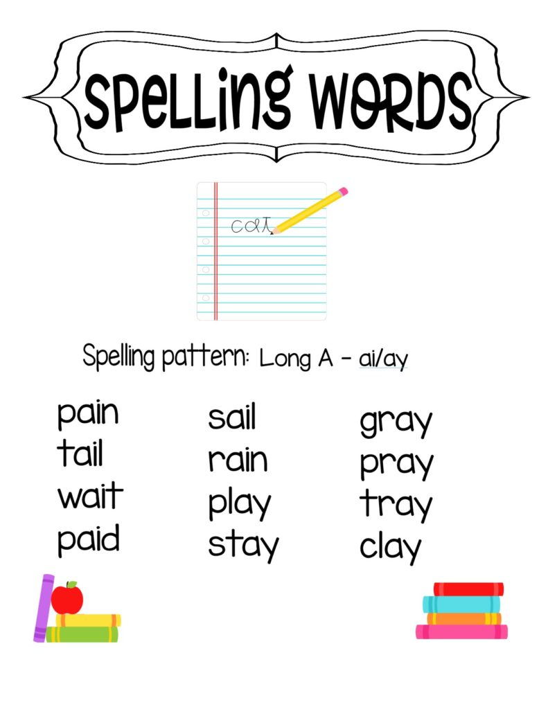 The Ultimate Spelling Schedule for Beginning Readers