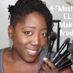"4 ""Must-Have"" E.L.F. Makeup Brushes!"