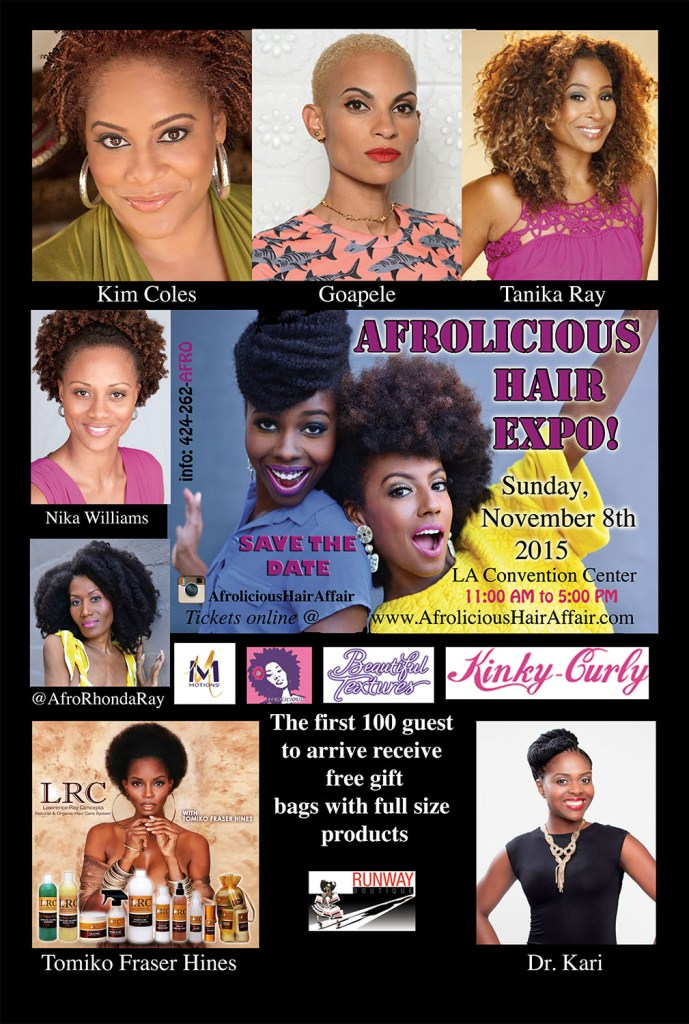 Afrolicious, Natural Hair event, LA Naturals, Natural Hair, LA Events,