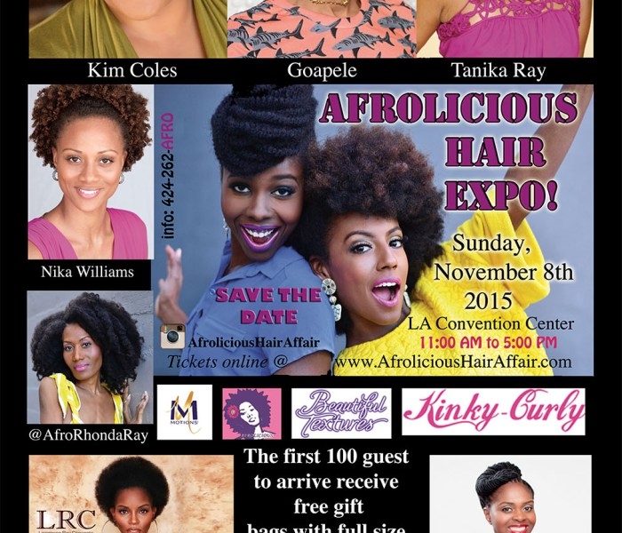 I'll be at Afrolicious this weekend, will you?