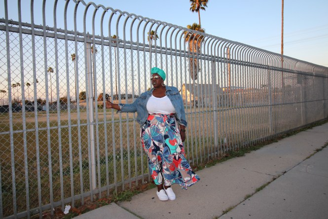 LOT XI, Neva Marie Designs, Plus Size Fashion, Fashion, Plus Size, Style, Outfit of the Day, OOTD, Wrap Skirt, Old Navy, T-shirt, Vans, Headwrap, Janae Michelle, This Curvy Girls Life,