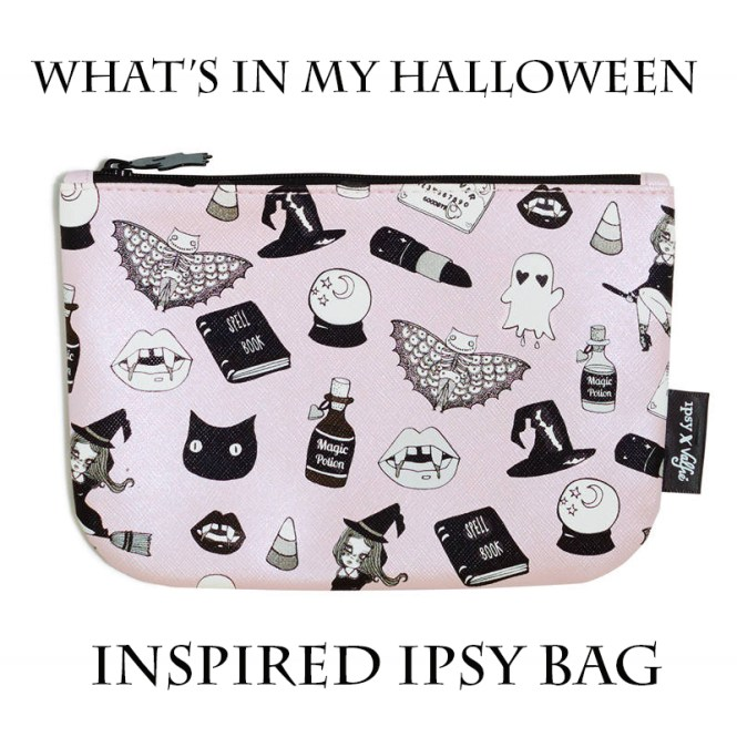 Ipsy, Ipsy Bag, October, Halloween, Makeup, Skin Care, Jana'e Michelle, This Curvy Girls Life, Lifestyle Blog, Beauty Blogger, Tatcha, Pur-lissé, Teeez Cosmetics, NYX, KoKie
