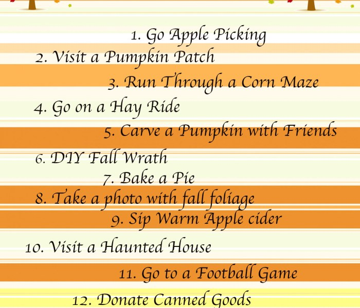 Fall Checklist // Best Local Apple Picking and Pumpkin Patch