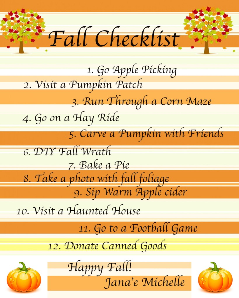 Fall Checklist, Fall California, Things to do for fall, What to do for fall, Checklist for fall, Apple Picking, Hay Ride, Pumpkin Patch, This Curvy Girls Life, Jana'e Michelle,