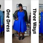 One Dress Three Ways – Fit N' Flare