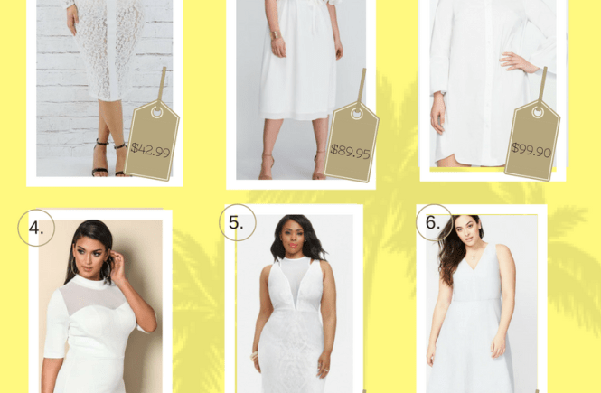 Plus Size, White dress, White Dresses for spring, white dresses for summer, Plus Size clothing, Plus Size Fashion, Fashion for plus size, Spring Style, How to wear white, This Curvy Girls Life, Janae Michelle,