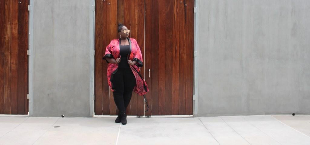 Plus Size, Kimono, Fashion, Torrid, Lane Bryant, Serenada, Plus Bus, Quay, Hi Key Glasses, Plus Size Fashion, Style, This Curvy Girls Life, Jana'e Michelle