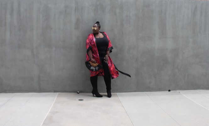Plus Size, Kimono, Fashion, Torrid, Lane Bryant, Serenada, Plus Bus, Quay, Hi Key Glasses, Plus Size Fashion, Style, This Curvy Girls Life, Jana'e Michelle