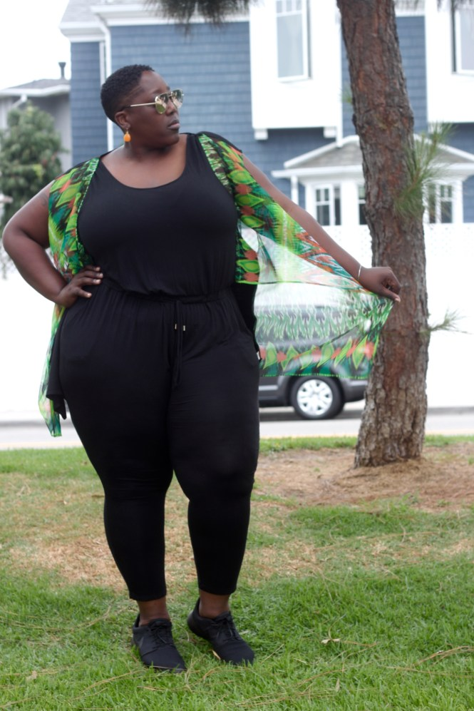 LMBD, Looks May Be Deceiving, Plus Size, Fashion, Plus Size Fashion, Fall Outfit, Summer Outfit, Plus Size Fall Look, Plus Size Summer Look, Style, Fashion for Curves, Curvy Women, Full Figured, This Curvy Girls Life, Janae Michelle