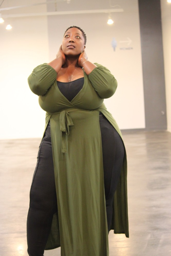 Posh Shoppe, Plus Size, Outfit of the Day, OOTD, Nike, Lane Bryant, Plus Size Fashion, This Curvy Girls Life, Jana'e Michelle