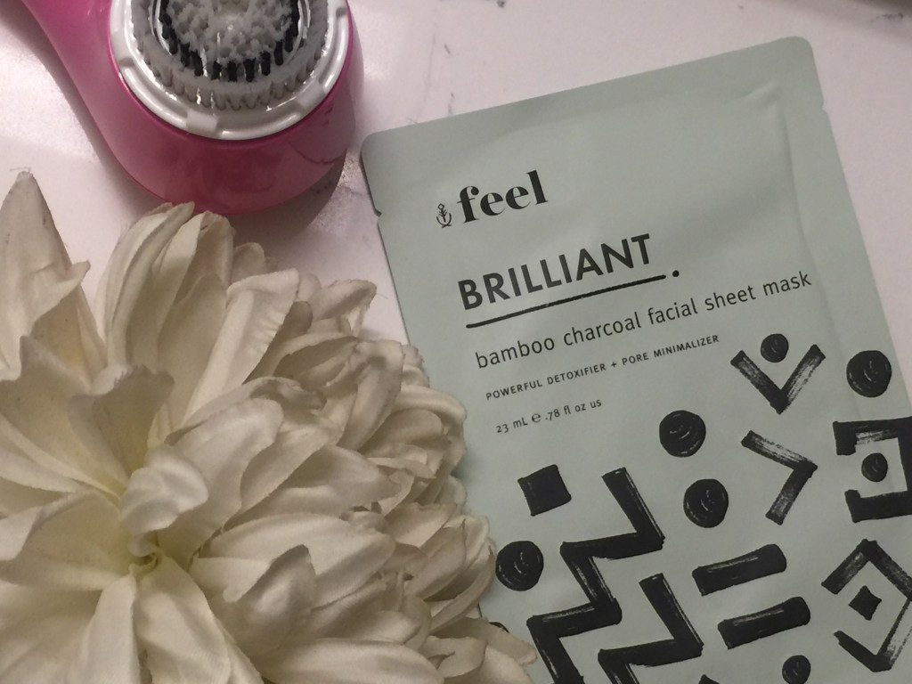 Face Mask, Skin Care, Bamboo Sheet Mask, Feel Brilliant Face Mask, Skincare Routine, Weekly Skincare Routine