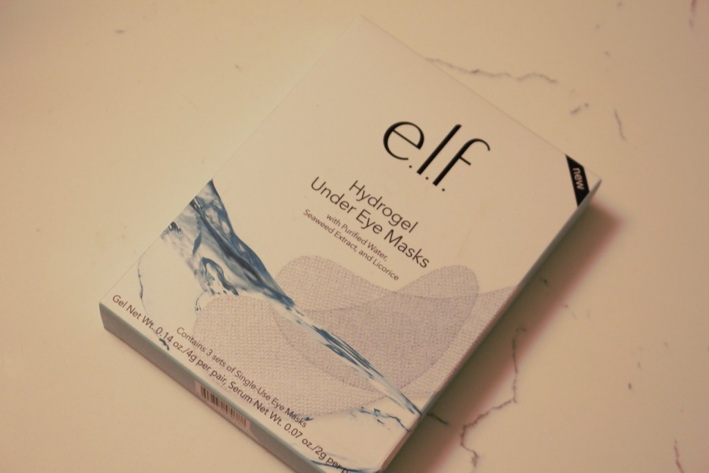 ELF, Hydrogel Eye Mask, Skincare, Eye Care, Look younger, Play Beautifully, ELFcosmetics,,