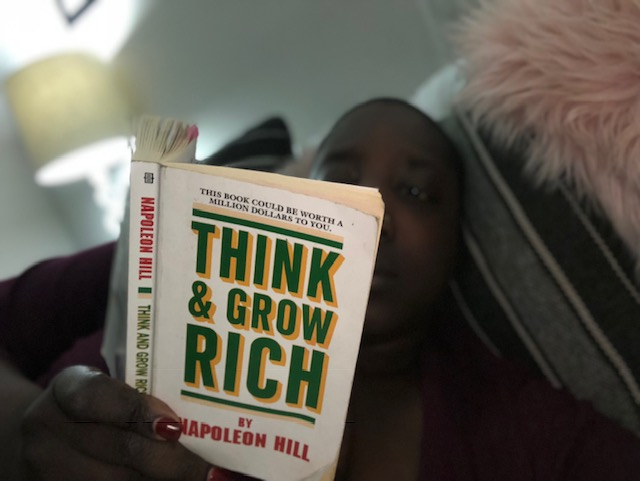 Think and Grow Rich, Mindset, Growth, Entrepreneurs, Women in Business, Millionaire Mindset, Leaders are Readers,