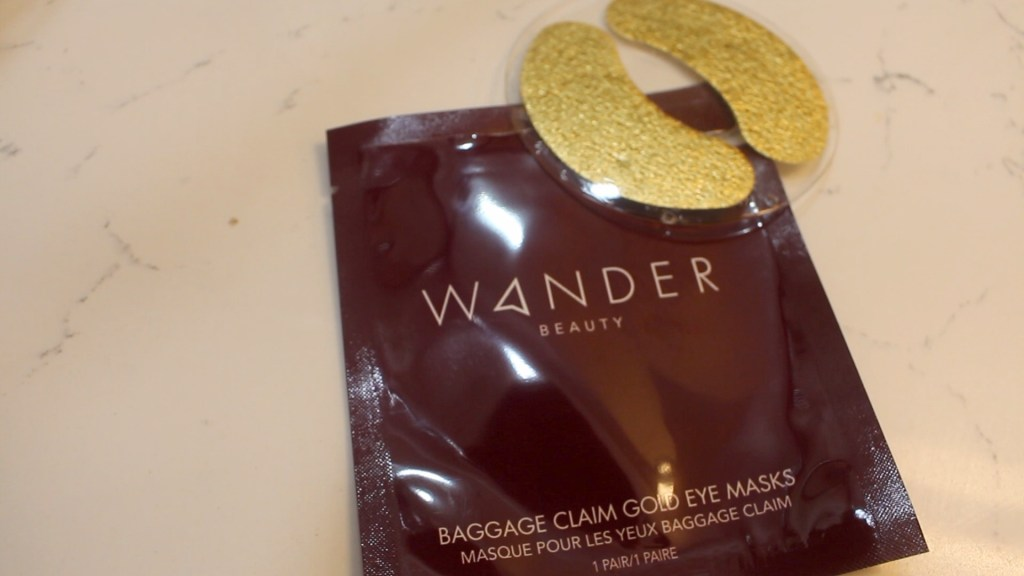 Wander Beauty, Baggage Claim Gold Eye Masks, Skin Care, Eye Masks, Gold Masks, K Beauty, Korean Beauty