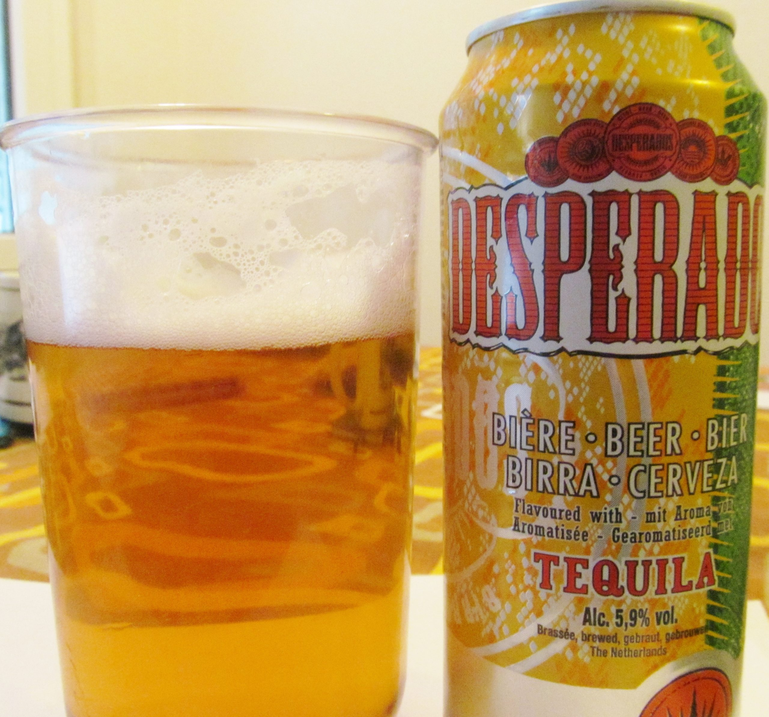 Desperados World S First Tequila Flavoured Beer