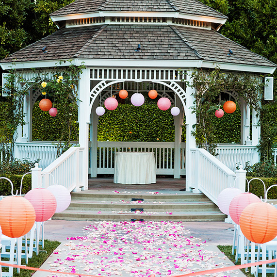 8 Ways to Decorate the Rose Court Garden Gazebo  This Fairy Tale Life