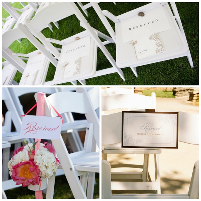 reserved signs for chairs template cover chaise lounge chair free printable seating your wedding ceremony