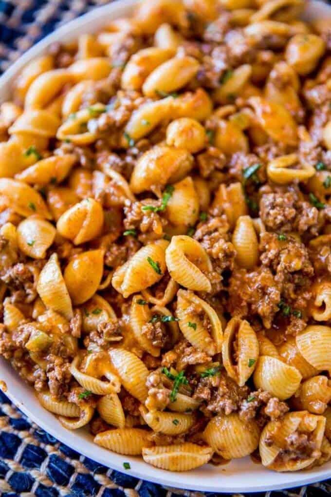Aldi Meal Plan Cheesy Taco Pasta