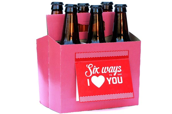 beer tote valentines day gfits for men