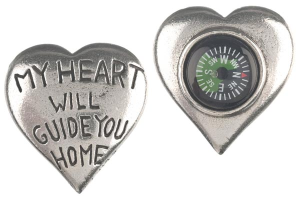 heart compass valentines gifts for him