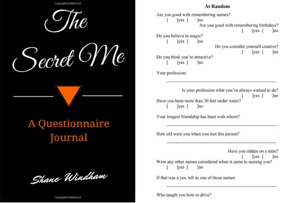 questionaire journal gifts for him