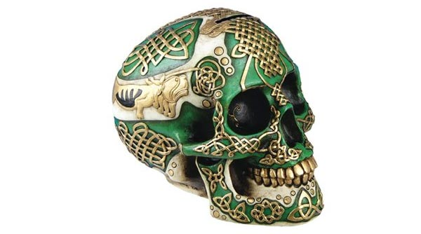 skull collectible valentines gifts for him