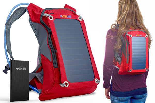 solar backpack christmas gifts for him