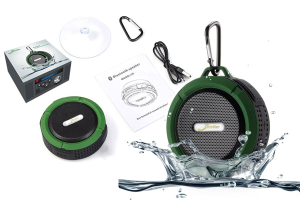 waterproof speaker christmas gifts for him