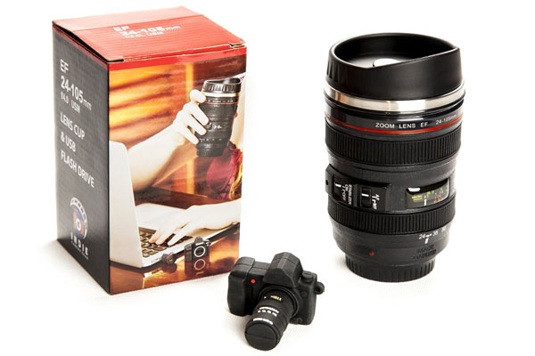 gift for photographers lens mug
