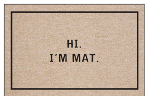 housewarming gifts for guys funny doormat