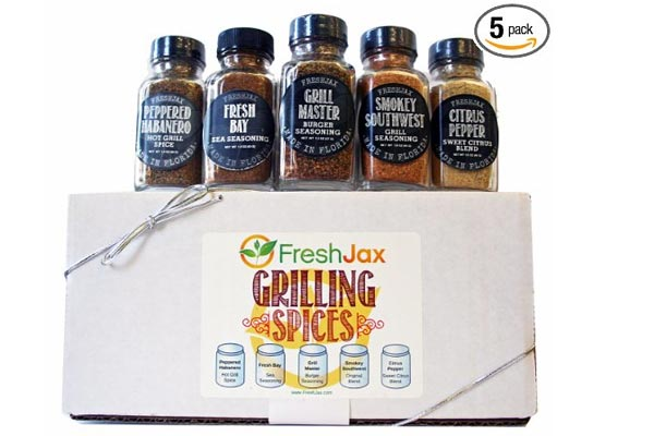 small gifts ideas for men grilling spice