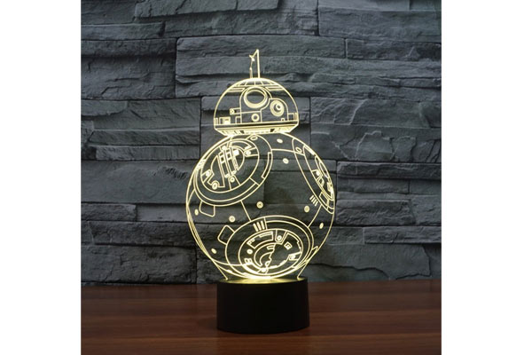 star wars gifts for him light