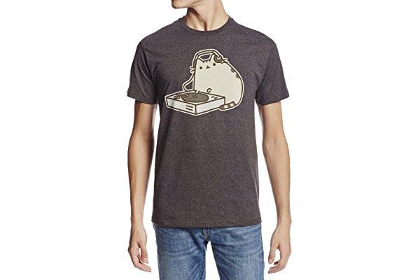 cute gifts for boyfriend pusheen t-shirt