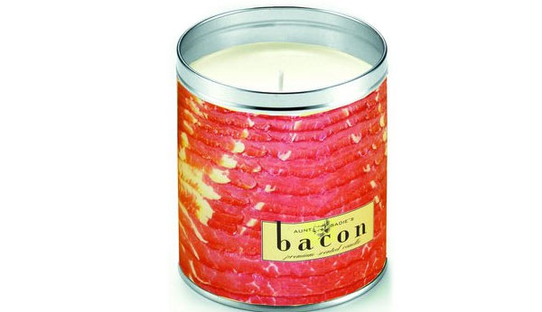 candle birthday gifts for bacon lover
