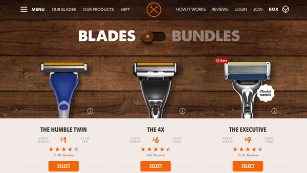 dollar shave club 40th birthday gifts for him