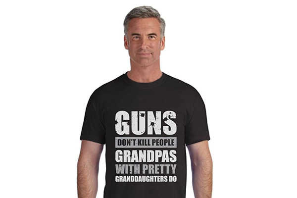 funny grandpa t shirt for his 80 years old birthday