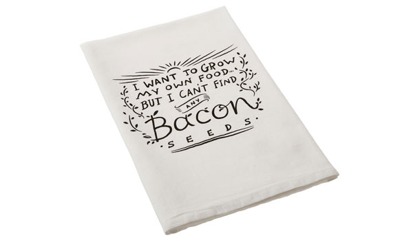 towel birthday gifts for bacon lover