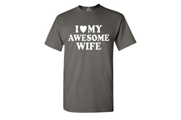2nd anniversary gift for husband t shirt