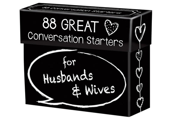 best birthday gifts to husband conversation starter