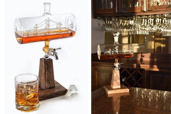 Creative Gift Ideas For Husband Birthday Handblown Decanter