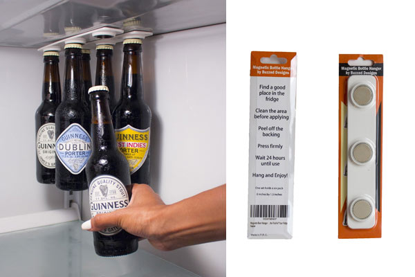 creative gifts for him magnetic beer holder