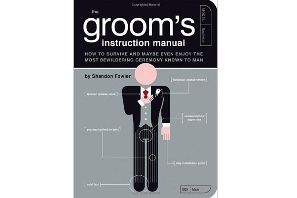 love gifts for him grroms instruction manual