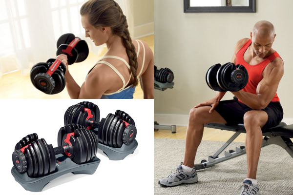 nice gifts for him dumbells